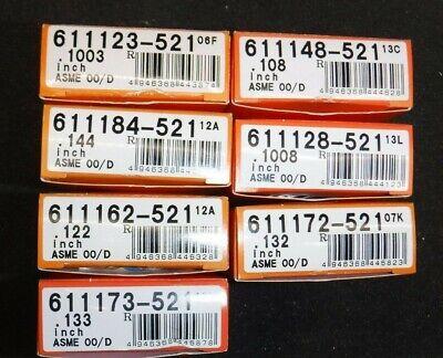 Mitutoyo Series 521 Gauge Block Variety Lot Of 7