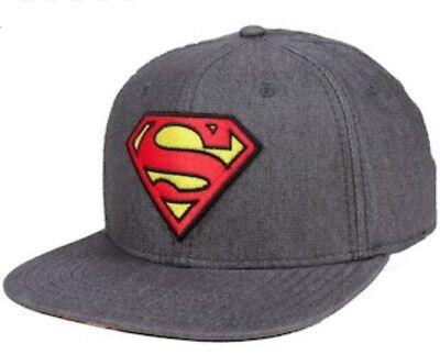 Superman DC Comics Rebirth Logo One Size Flex Cap (OSFM) Osfm Flex Cap