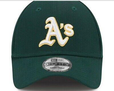 New Era Oakland Athletics Men's Green League 9FORTY Adjustable Hat  - GREAT GIFT Greats Adjustable Hat