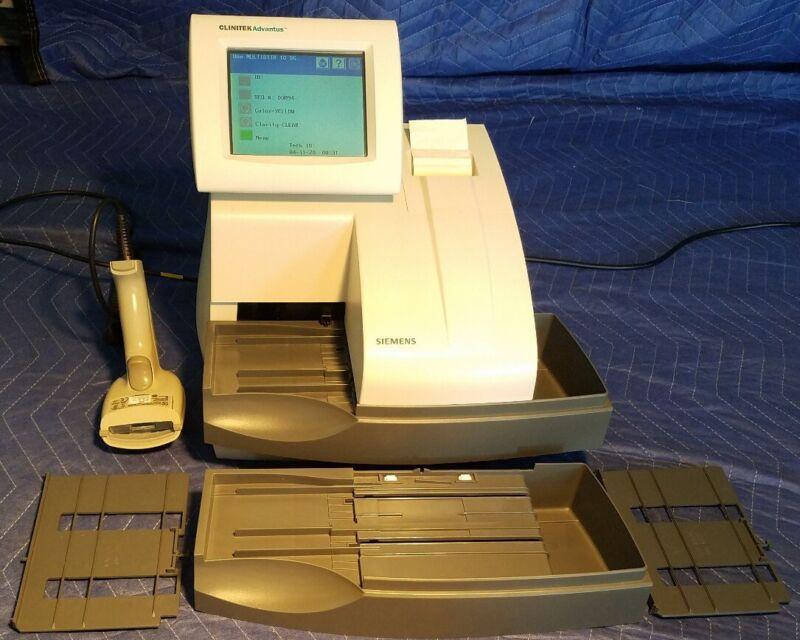 CLINITEK Advantus Urine Chemistry Analyzer with Bar Code Reader and Accessories