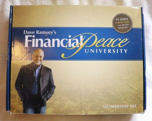 Financial Peace University Dave Ramsey Membership Kit