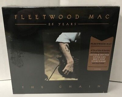 Fleetwood Mac- The Chain (25 Years), 4 CD SET, NEW, SEALED