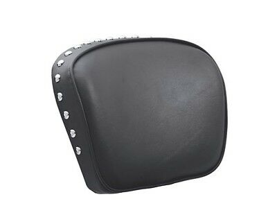 HARLEY HERITAGE SOFTAIL CLASSIC STUDDED STUD SISSY BAR BACKREST PAD DELUXE STUDS