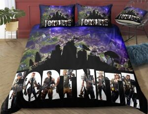 Fortnite Twin 3 Piece Duvet Cover Bedding Set
