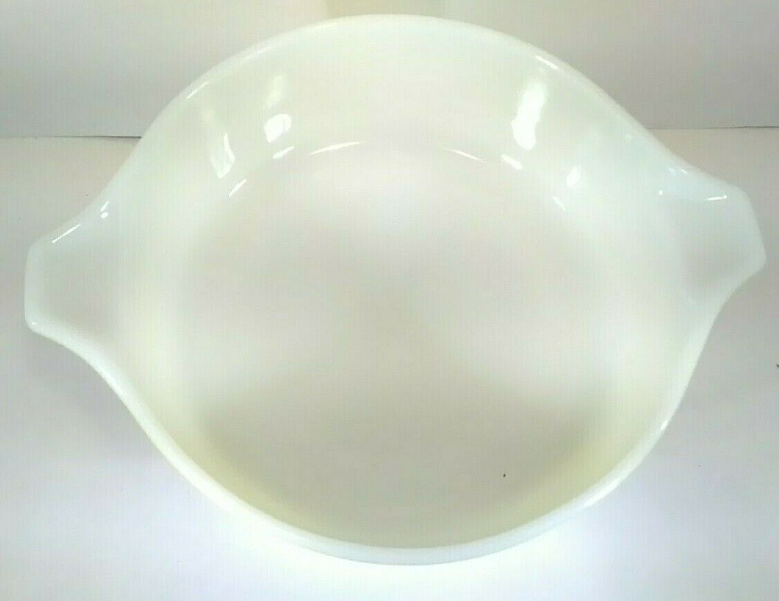 Pyrex 471 Yellow Verde Casserole Bowl With Clear Lid 1 Pint Vintage  - $12.77