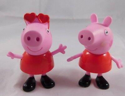 Peppa Pig Cake Toppers (2011 Mattel Peppa Pig PVC Figures Cake Toppers Replacement)