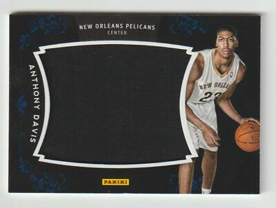 ANTHONY DAVIS Pelicans 2013 Panini Black Friday JUMBO JERSEY Relic #AD SP Rare
