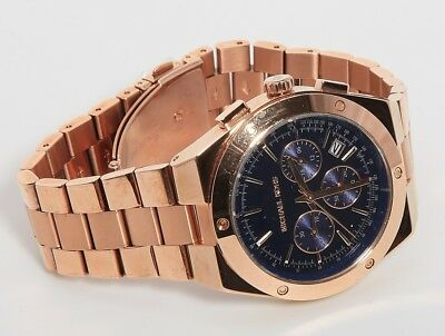 9a59610709ffb Authentic MICHAEL KORS MK6148 Women s Chronograph Reagan Rose Gold-tone  Watch