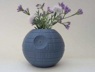 Death Star Planter, Star Wars Planter, Succulent Planter, Ai