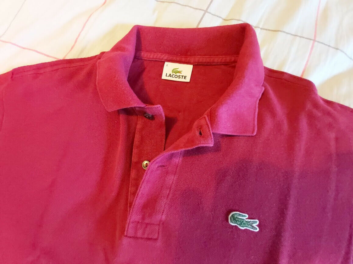 Polo lacoste - taille 6