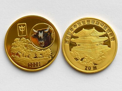 L3131, Korea Ox Commemorative Coin 20 Won, 2009
