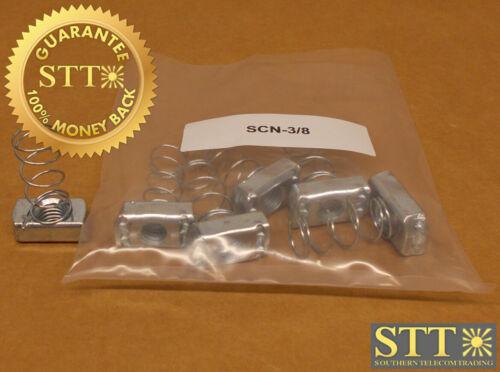 """Scn-3/8 Metal-tech 3/8"""" Strut Channel Nut (lot Of 6) New"""