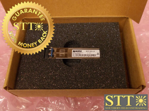 Sfp-gd-lx Mrv Optical Transceiver 1000base Lx Lc, 10 Km, 1310 Nm Sfp New