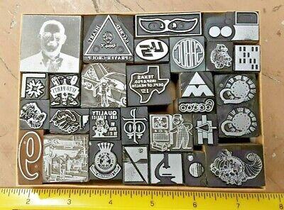 27 Printer Blocks For Letterpress Printing Kelsey Shadowbox Decoration