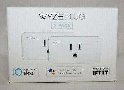 Wyze Plug Smart Home WiFi Plug  2-Pack New Free Shipping