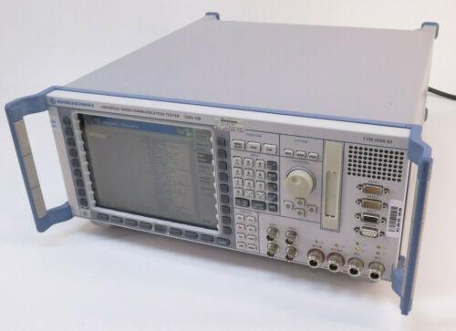 Rohde & Schwarz CMU 200 Universal Radio Communication Tester W/ Options CMU200