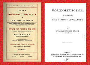 Folk Medicine, Alternative Remedies & Herbal Cures - 100 Books on DVDrom