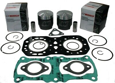 Polaris Indy 500 Classic, 1989-1997, Wiseco Std Pistons and Top End Gasket Set ()