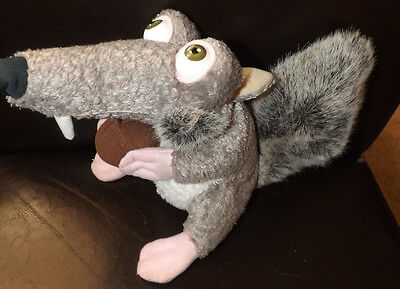 "ICE AGE SCRAT WITH NUT 7"" PLUSH"