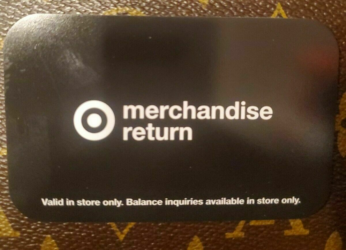 Target In-Store Only Gift Card 172.20 - $139.50