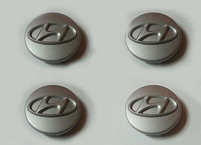 Hyundai Elantra 2001-2006 GENUINE OEM Center Wheel Cap 4PC Set 5296027700