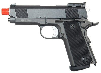 *330 FPS* WELL G193 Compact Co2 Airsoft Side Arm Pistol - BLOWBACK -
