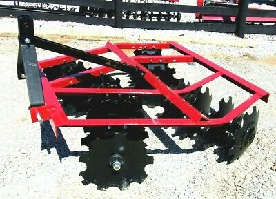 New Atlas Wf1616 5 Ft.-3 Pt. Lift Disc Harrow Free 1000 Mile Delivery From Ky