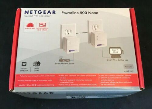 NETGEAR Powerline 500 Nano (XAVB5101) NIB