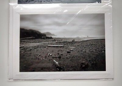 Beach Themed Birthday (3 Variety Coastal Beach Themed Black & White Photo Note Cards 🐚🌏 Blank)