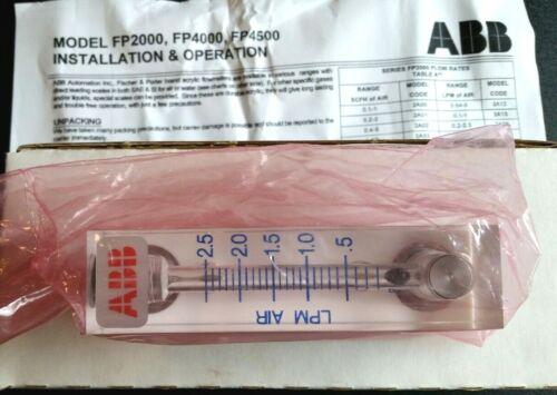 ABB FR2A29SNVT Acrylic Flowmeter