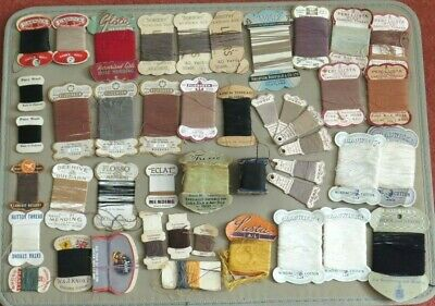 Job Lot of Vintage Mending Threads Chadwicks Peri-Lusta Filosheen The