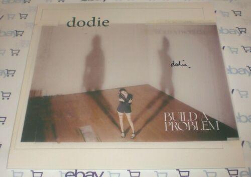 SINGER DODIE SIGNED BUILD A PROBLEM VINYL 12' LP RECORD AUTOGRAPH COA HUMAN YOU