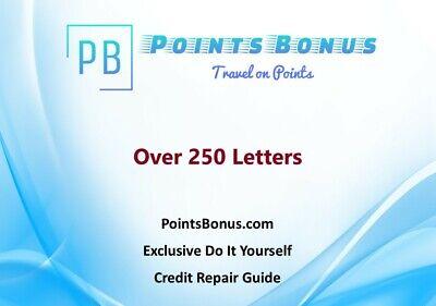 Do It Yourself Credit Repair Guide - Over 250 Credit Repair Letters