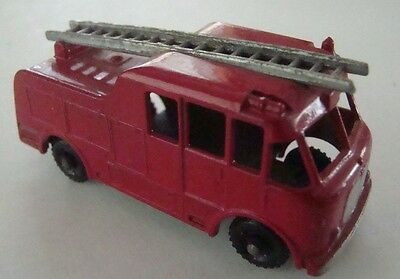 Matchbox Regular Wheel 9C Merryweather Marquis Fire BPW Silver Ladder 1959
