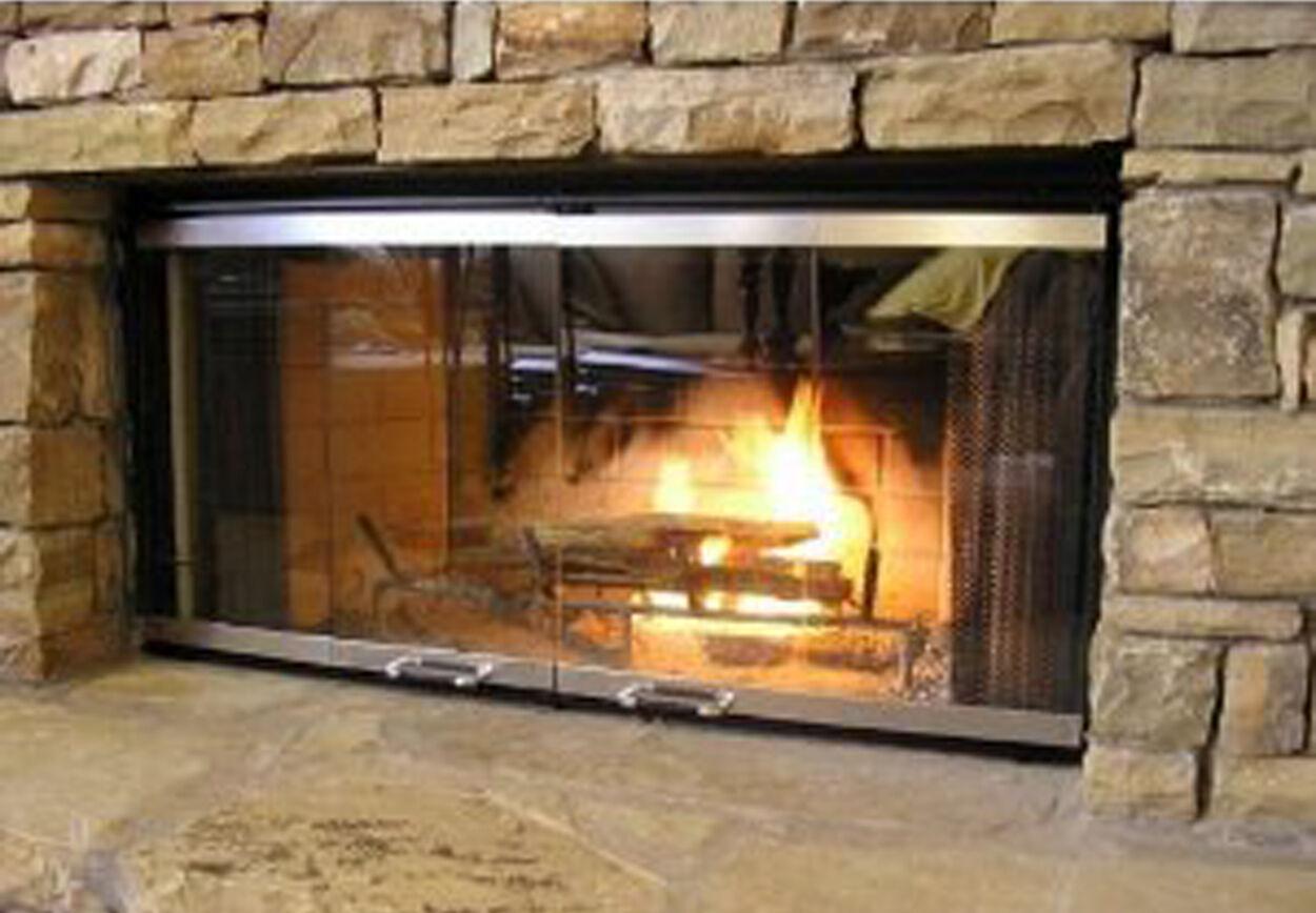 fireplace doors for heatilator fireplaces 42 set 199