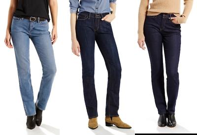 Women's Levi's 525 Perfect Waist Straight-Leg Jeans - Sizes