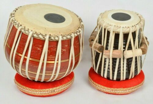 Professional Folk Musical Instrument Brass Tabla High Quality Drums Set With Bag
