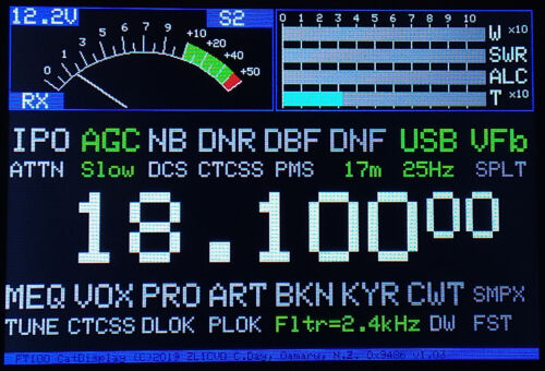 Original CatDisplay for Yaesu FT-100 FT-100D