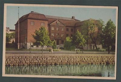 Museet. Gavle. postcard  ab28
