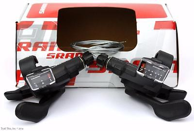 SRAM X.3 7SP Rear Index Front Trigger Shifter Set