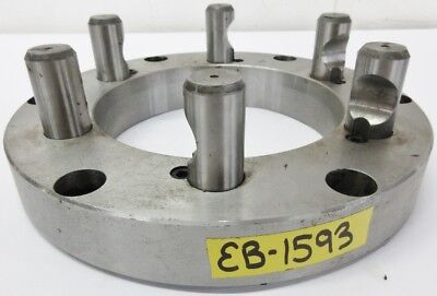 "Semi Finished D1-11 Adapter Plate for 12"" Chuck"
