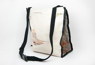 Bearded Dragon Pet Carry Bag Lizard