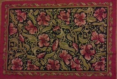 William Cotton Tapestry (william morris chrysanthemum tapestry tea towel 100% cotton NEW SEALED christmas)