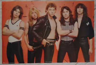 Iron Maiden 1980 Poster Pace Scotland New Condition