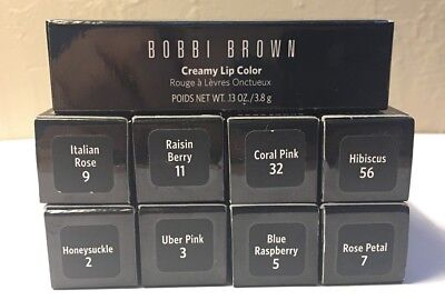 Bobbi Brown  Creamy Lip Color 0.13oz  NEW IN BOX Bobbi Brown Creamy Color