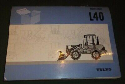 Volvo L40 Wheel Loader Parts Manual Book Catalog