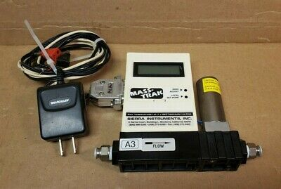 Sierra Masstrak Mass Flow Controller 810c-dr-13 Gas Air 1000 Sccm