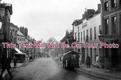 LC 160 - High Street, Lutterworth, Leicestershire - 6x4 Photo