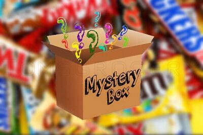 Mystery Candy Box Best European Sweets Mix Chocolate Bars Treats Gummies &