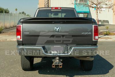 Fit 09-18 Ram 1500 2500 3500 ABS Primer Black Tailgate Rear Trunk Spoiler